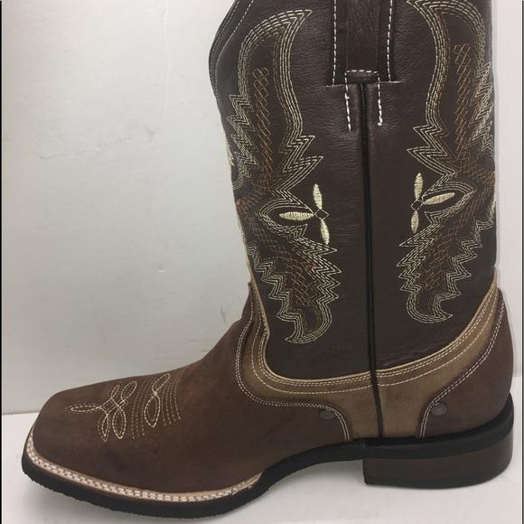 0917063b1b Women s cowgirl boots brown Bota Vaquera de mujer